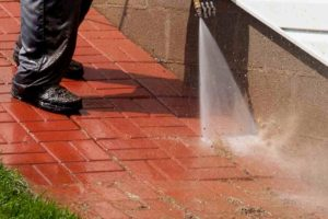Rochester NY Brick Paver Cleaning Pressure Washing