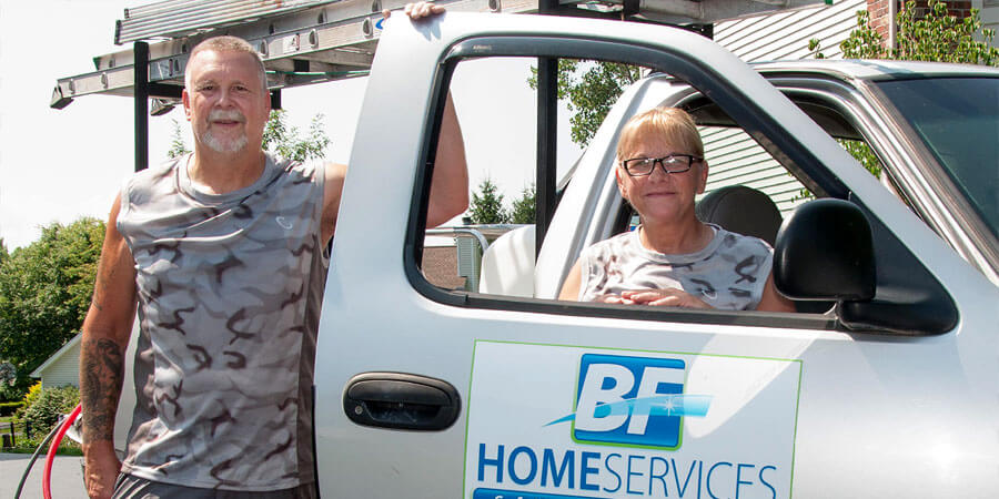 Brian and Fran Schoenherr of BF Home Services