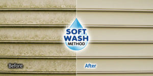 SoftWash House Washing in Pittsford, NY by BF Home Services