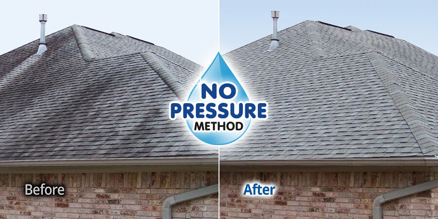 No pressure roof cleaning in webster new york bf home services bf home services - Using water pressure roof cleaning ...