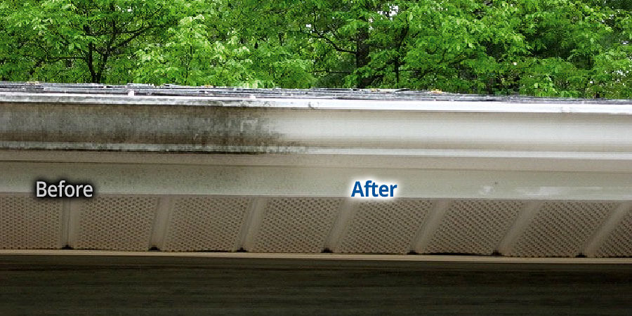 Gutter Cleaning In Penfield New York Bf Home Services