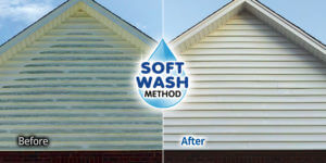 Rochester NY Soft Wash House Washing Home Siding Cleaning