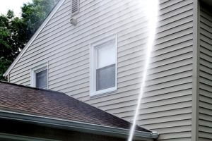 Rochester NY Soft Wash House Low Pressure Washing
